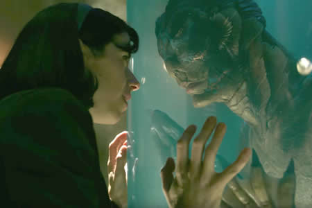"""The Shape of Water"" y Guillermo del Toro enamoran a los Globos de Oro"