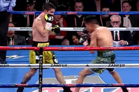 Un boxeador británico casi pierde una oreja en un combate contra un mexicano