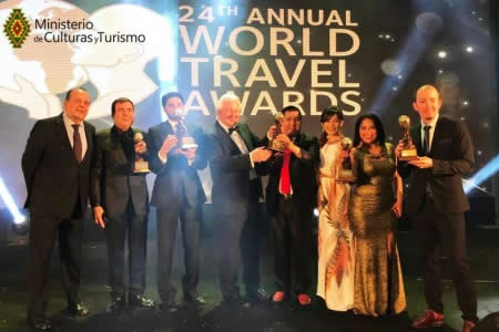 "World Travel Awards elige a Bolivia como el ""Mejor Destino Cultural del Mundo 2017"""