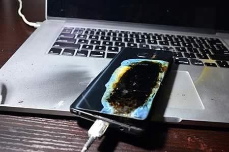 Samsung responsabiliza a las baterías de los incendios de su Galaxy Note 7