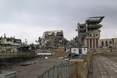 Mosul quiere recuperar su rutina, en medio de los escombros de la guerra
