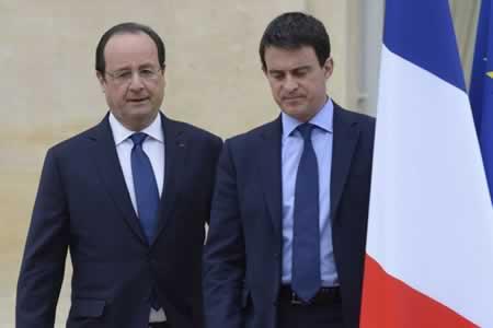 Hollande se re ne con valls y los ministros de justicia y for Nombre del ministro de interior y justicia 2016