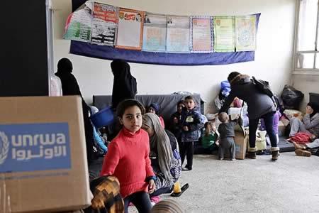 Agencia de la ONU pide 813 millones para los refugiados palestinos para 2017