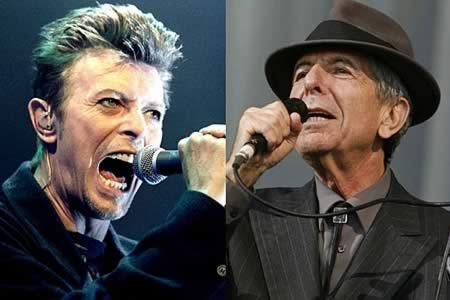 David Bowie y Leonard Cohen optarán póstumamente a los premios Brit