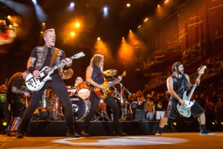 Metallica, The Strokes, The Weeknd y The XX,cabezas de Lollapalooza Argentina