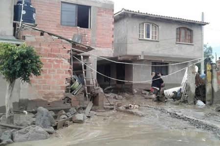 Suman más de 10 mil familias afectadas por las lluvias