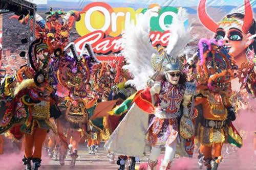 Policía movilizará 2.200 efectivos y el Ejército 1.400 para seguridad en el Carnaval de Oruro