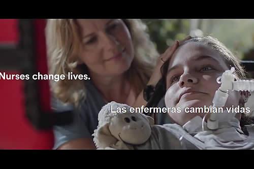 'Las enfermeras cambiamos vidas y eso lo cambia todo'