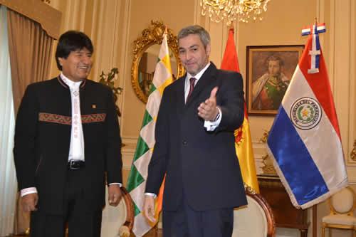Abdo Benítez: Bolivia y Paraguay tienen un destino común, hay que vigorizar lazos de cooperación