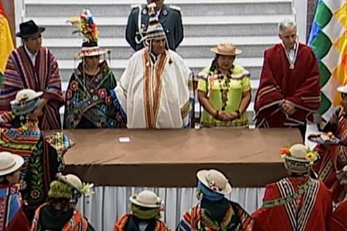 Bolivia celebra Día de la Descolonización y ratifica que los indígenas nunca más vivirán sometidos