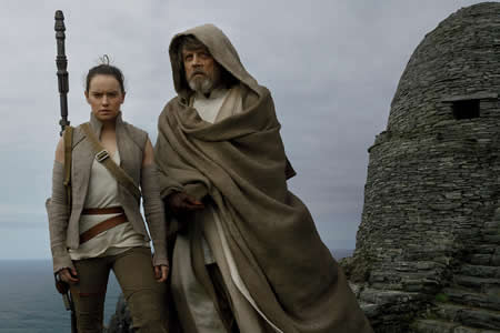 "Star Wars se prepara para la explosión final con ""The Last Jedi"""