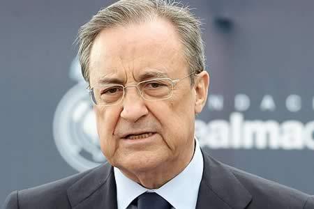 """Florentino Pérez: """"En el fútbol no hay espacio para los radicales"""""""
