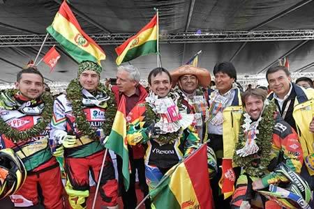 Grandes logros y éxitos de Bolivia como el Dakar son decisiones estratégicas del Presidente