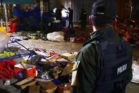 """Morales califica de """"sospechosa"""" explosión de Oruro"""