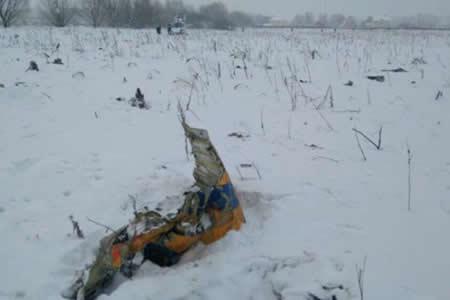 Accidente de avión ruso pudo deberse a datos erróneos sobre velocidad