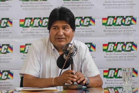 Morales: Bolivia está preparada para enfrentar desastres naturales