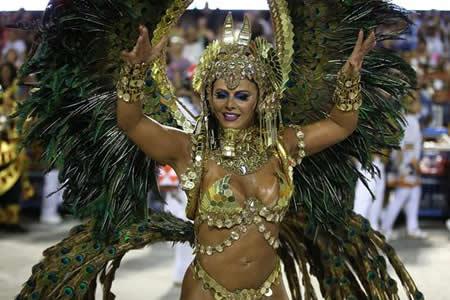 Brasil cierra el carnaval más crítico con un grito contra la violencia