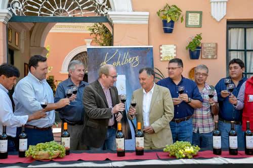 Kohlberg exportará 2 millones de botellas de vino de Tarija a China