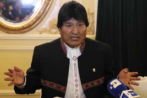 """Evo Morales: """"Amigos de Trump"""" no quieren a Maduro en Cumbre de las Américas"""