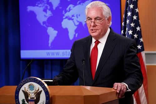 """Tillerson delega poder a su """"número dos"""" y abandonará el cargo el 31 de marzo"""