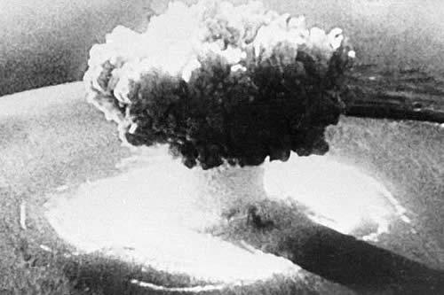 Difunden imágenes remasterizadas y de alta resolución de la primera explosión de la historia de una bomba atómica