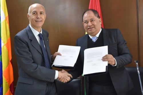 Italia dona a Bolivia Bs 1,2 millones para mejorar sistema de información penitenciaria