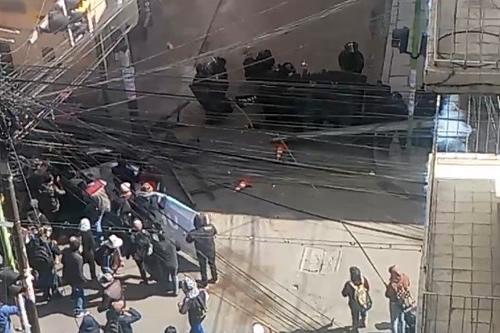 UPEA acusa a Policía de agredir y exige al Gobierno fijar día y hora de diálogo