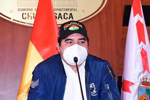 Gobernador de Chuquisaca contacta a Embajada rusa para conseguir la vacuna Sputnik