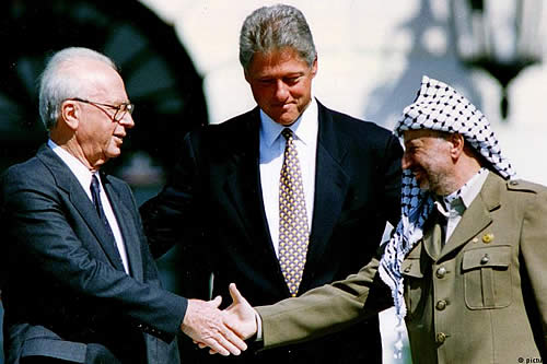 25 años de los Acuerdos de Oslo, frustrado intento de paz