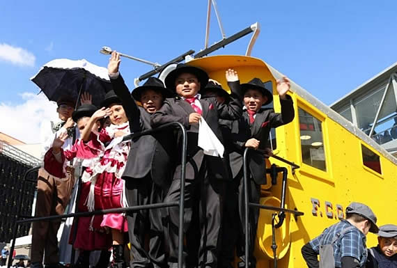 Morales inaugura el Parque Ferroviario en predios de la histórica la Estación Central