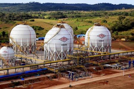 YPFB facturó $us 129 millones por venta de GLP a Paraguay, Perú y Uruguay