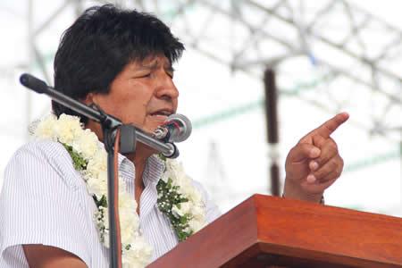 """Morales dice """"puede ser o no"""" que sea presidente para cumplir Agenda 2025"""