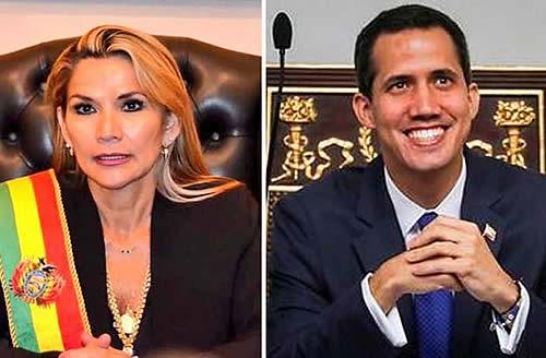 Añez reconocerá a Embajador de Venezuela que designe Guaidó