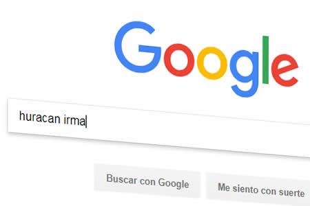 """Huracán Irma y """"Despacito"""" entre lo más buscado en Google este año"""