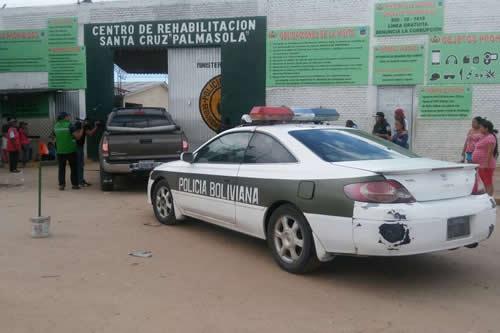 Policía realiza 'megaoperativo' de control en Palmasola