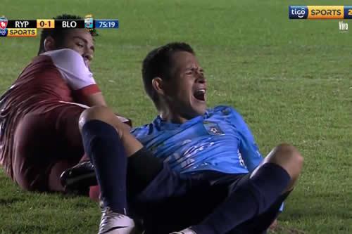 Doble fractura en la pierna de un joven futbolista conmociona al balompié boliviano