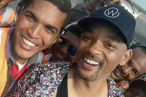 "Will Smith llega a Cartagena para grabar la película ""Gemini Man"""