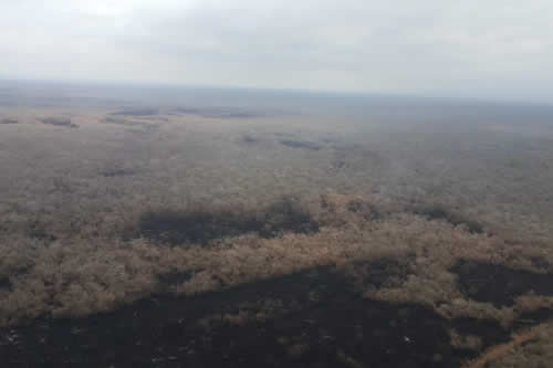 Alcalde de San José de Chiquitos asegura que incendio no afectó a áreas protegidas