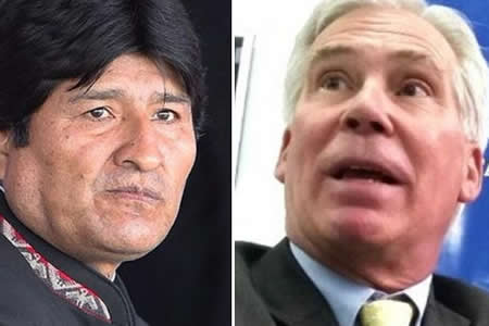 Evo Morales acusa a Brennan de reunirse con un expresidente para pedirle postularse
