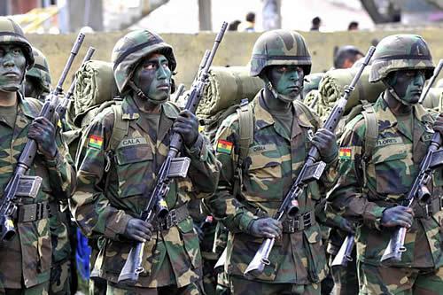 Bolivia desplegará unos 8.000 militares en un ejercicio contra el contrabando