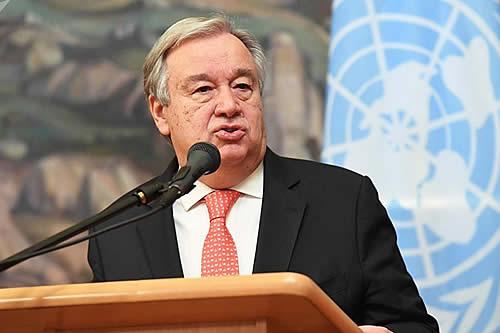 El secretario general de la ONU envía representante a Bolivia
