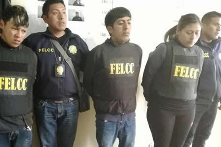 El Alto: Capturan a 8 ladrones entre lanceros y monrreros