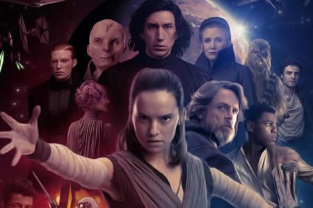 """""""Star Wars: The Last Jedi"""" monopoliza los estrenos de Estados Unidos"""