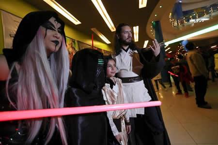 """El salar de Uyuni se convierte en estrella de """"Los últimos Jedi"""" para Bolivia"""