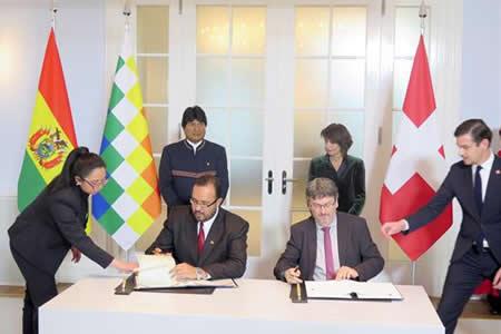 Bolivia consolida en Suiza soñado proyecto de Corredor Ferroviario Bioceánico
