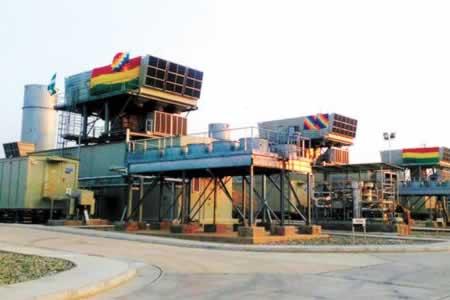 Arranca ampliación de Termoeléctrica de Warnes para inyectar 480 MW al sistema nacional