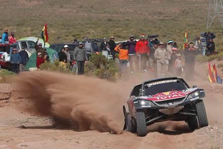 Sainz celebra cancelación de novena etapa con miras a ganar su segundo Dakar