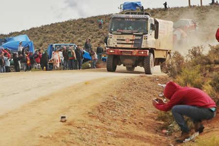 """Gobierno afirma que el Dakar 2018 por Bolivia fue un """"éxito"""" gracias a la población"""
