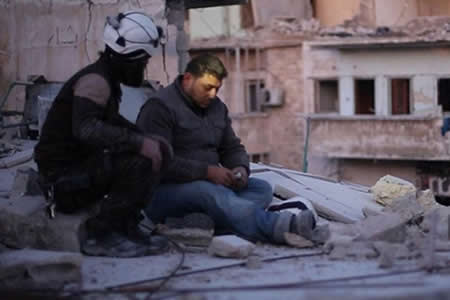 """Personal sirio de cinta nominada """"Last Men in Aleppo"""" no estará en los Óscar"""