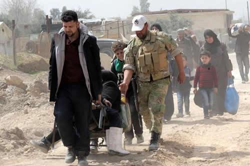 Siria cumple 7 años de guerra con desplazamiento masivo de civiles de Guta